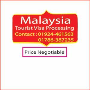 Malaysia Tourist Visa Processing-Travel