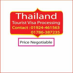 Thailand Tourist Visa Processing-Travel