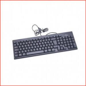 A.tech USB Standard Keyboard-computer