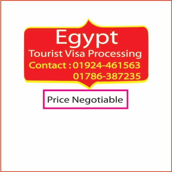 Egypt Tourist visa Processing-Travel