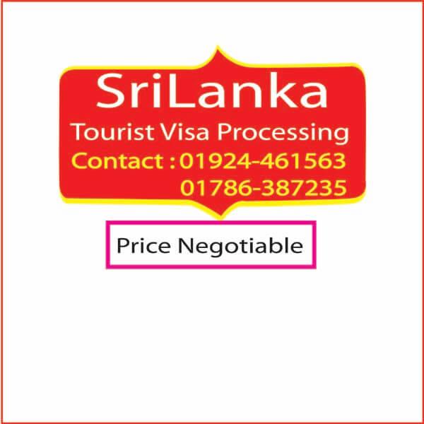 SriLanka Tourist Visa Processing