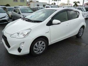 Toyota Aqua White S 2015-Automotive