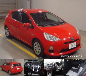 Toyota Aqua Red S 2014-Automotive