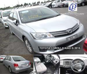 Toyota Corolla Axio G 2015-Automotive
