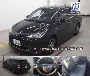 Toyota Corolla Fielder WXB 2015-Automotive