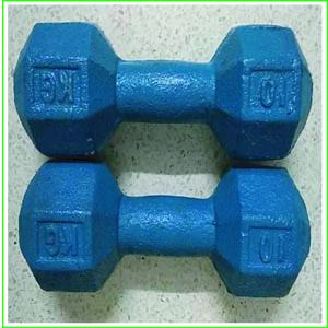 Blue Iron Dumbbell