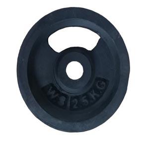 Black Dumbbell Plate-Fitness