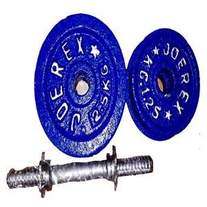 Blue Dumbbell Plate- Fitness