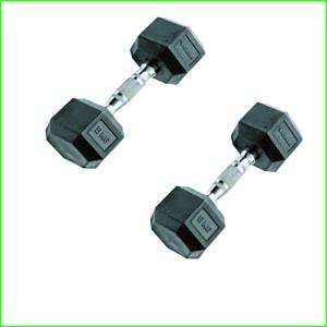 Rubber-Hex-Dumbbell-Fitness