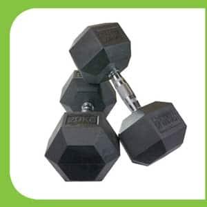 Rubber-Hex-Dumbbell-40-kg-Fitnessaz,'
