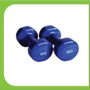 Vinyl Dumbbell 05 kg-Fitness